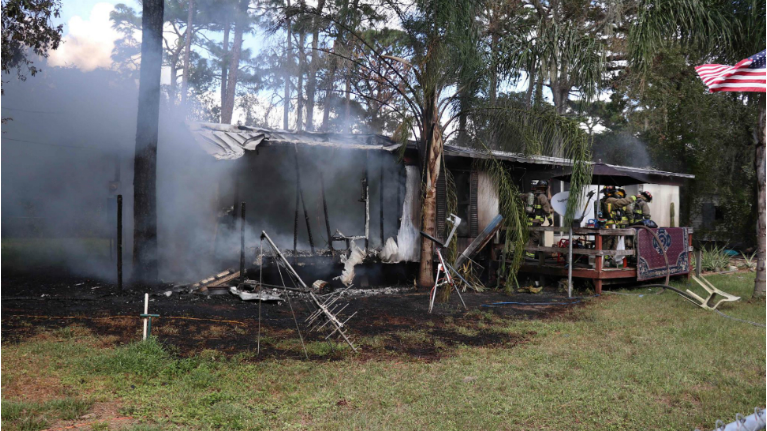 Pasco County Stilt House Destroyed By Fire Being Rebuilt