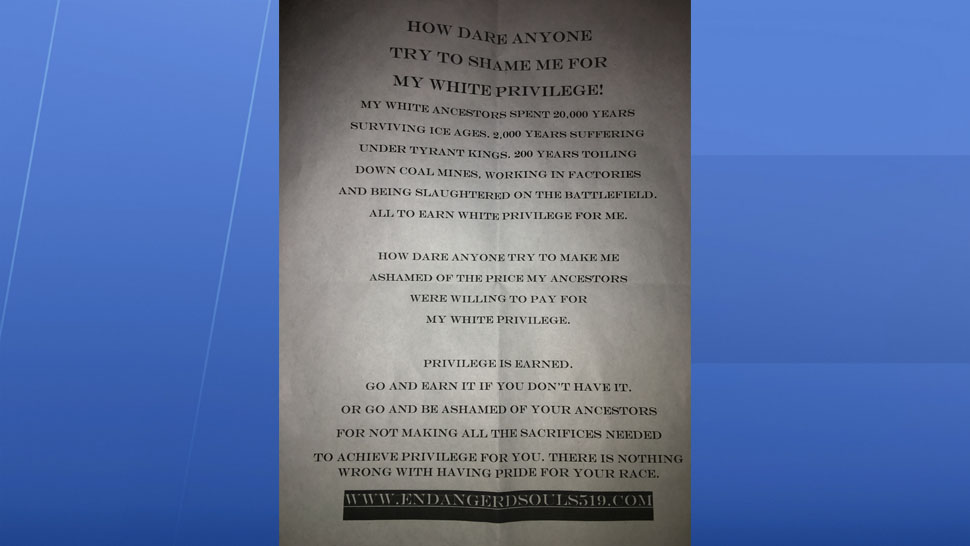 Bradenton Residents Upset Over Racist Fliers Found in Neighborhood