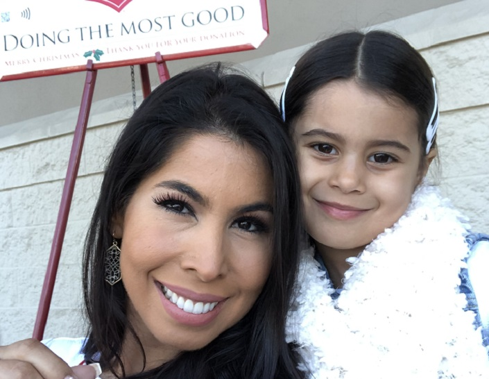 Veronica Cintron Red Kettle Campaign
