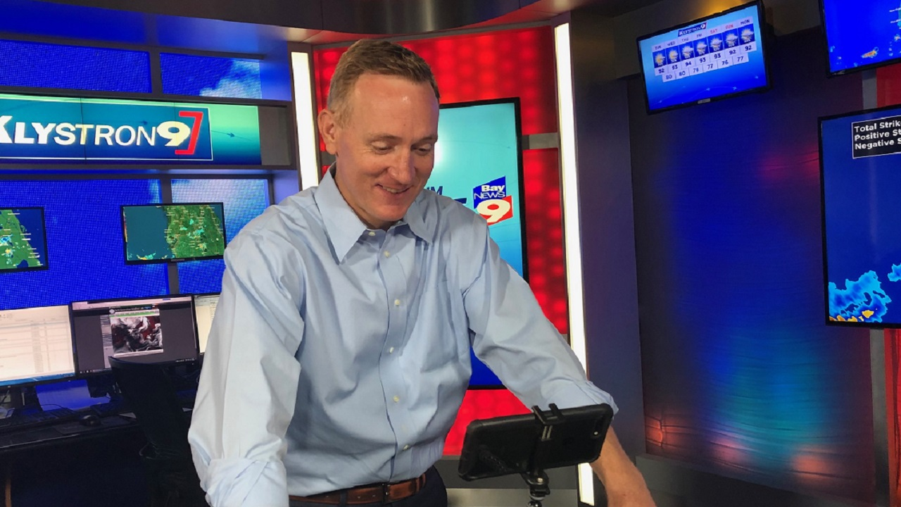 Brian McClure with SWFL Virtual Weather Camp