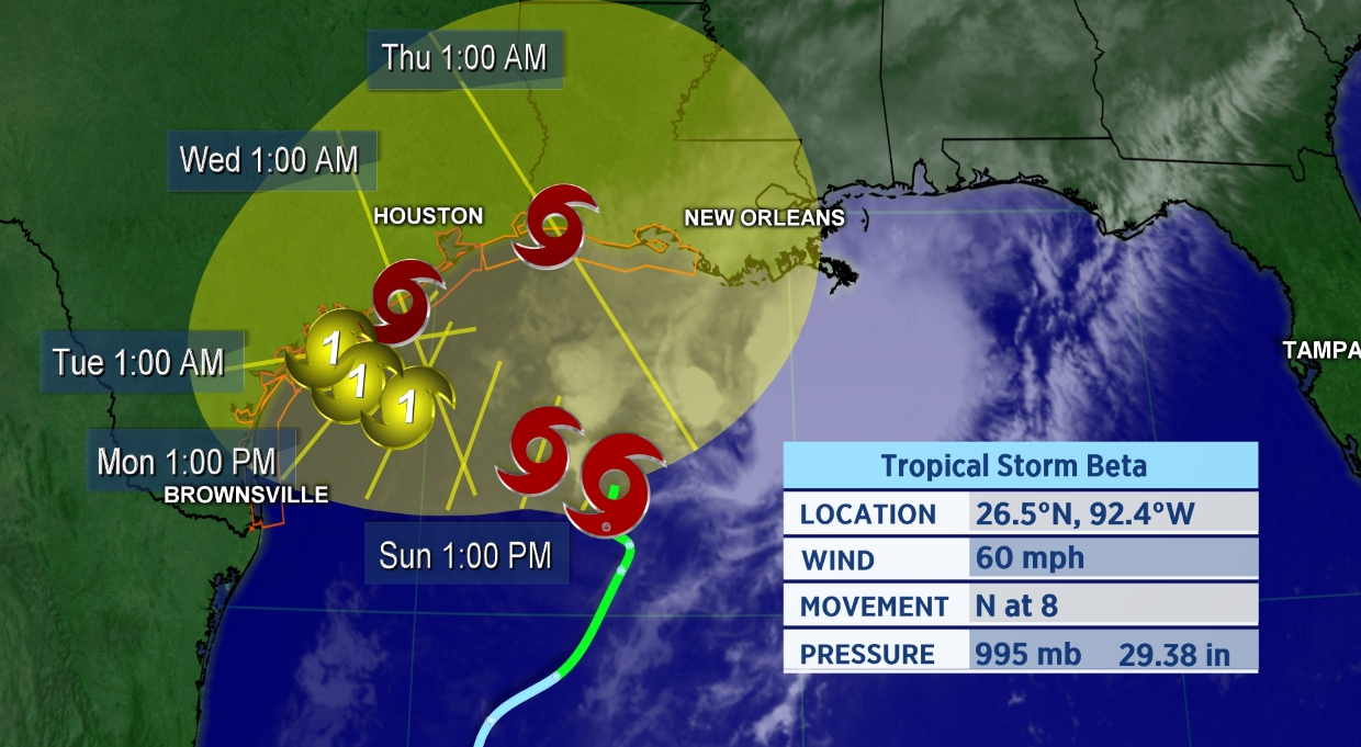 More Tropical Trouble in the Gulf of Mexico